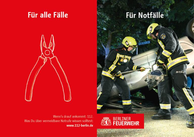 Kampagen-Werbemotiv zum Thema Technische Hilfeleistung